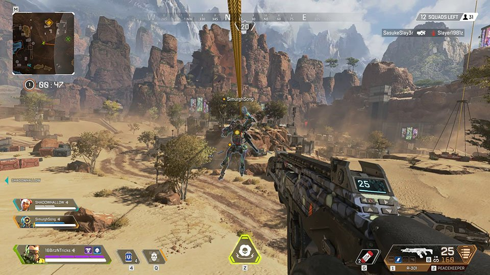 Apex Legends in-game graphics