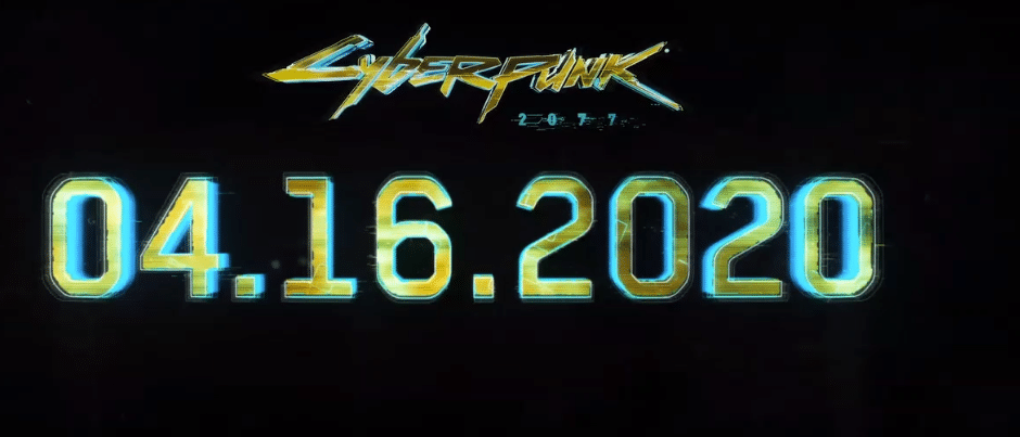 The release date for Cyberpunk 2077.