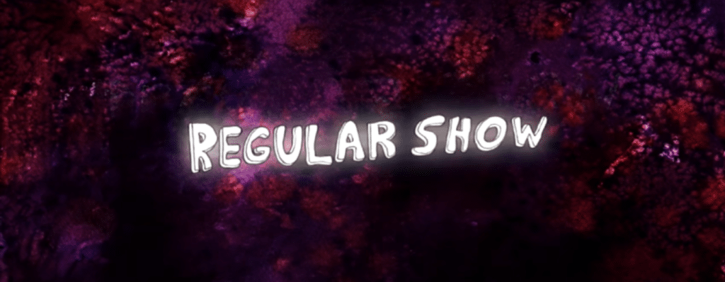 "Title card for Cartoon Network's ""Regular Show."""