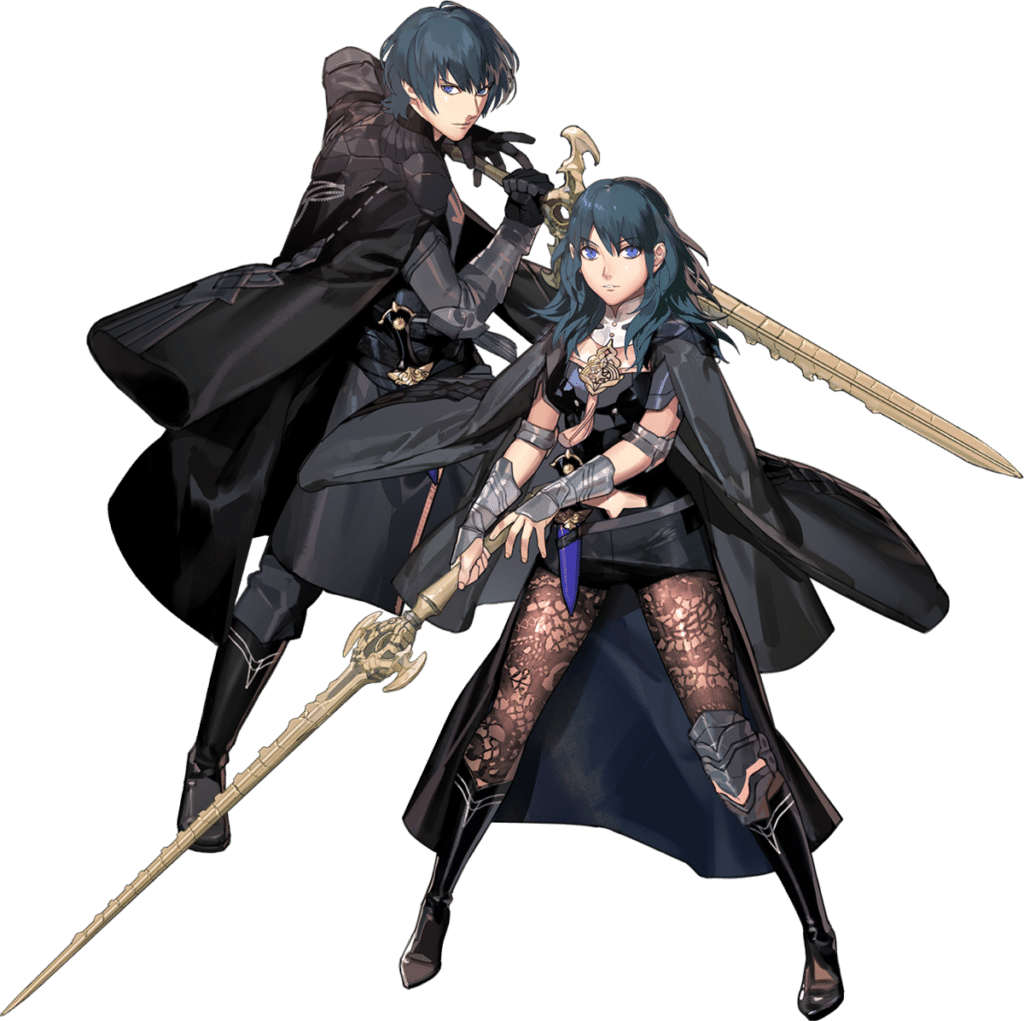 image of byleth from fire emblem
