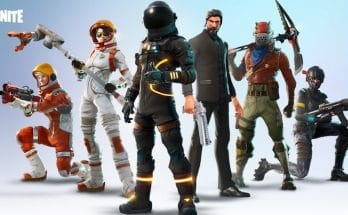 Fortnite battle royale skins.