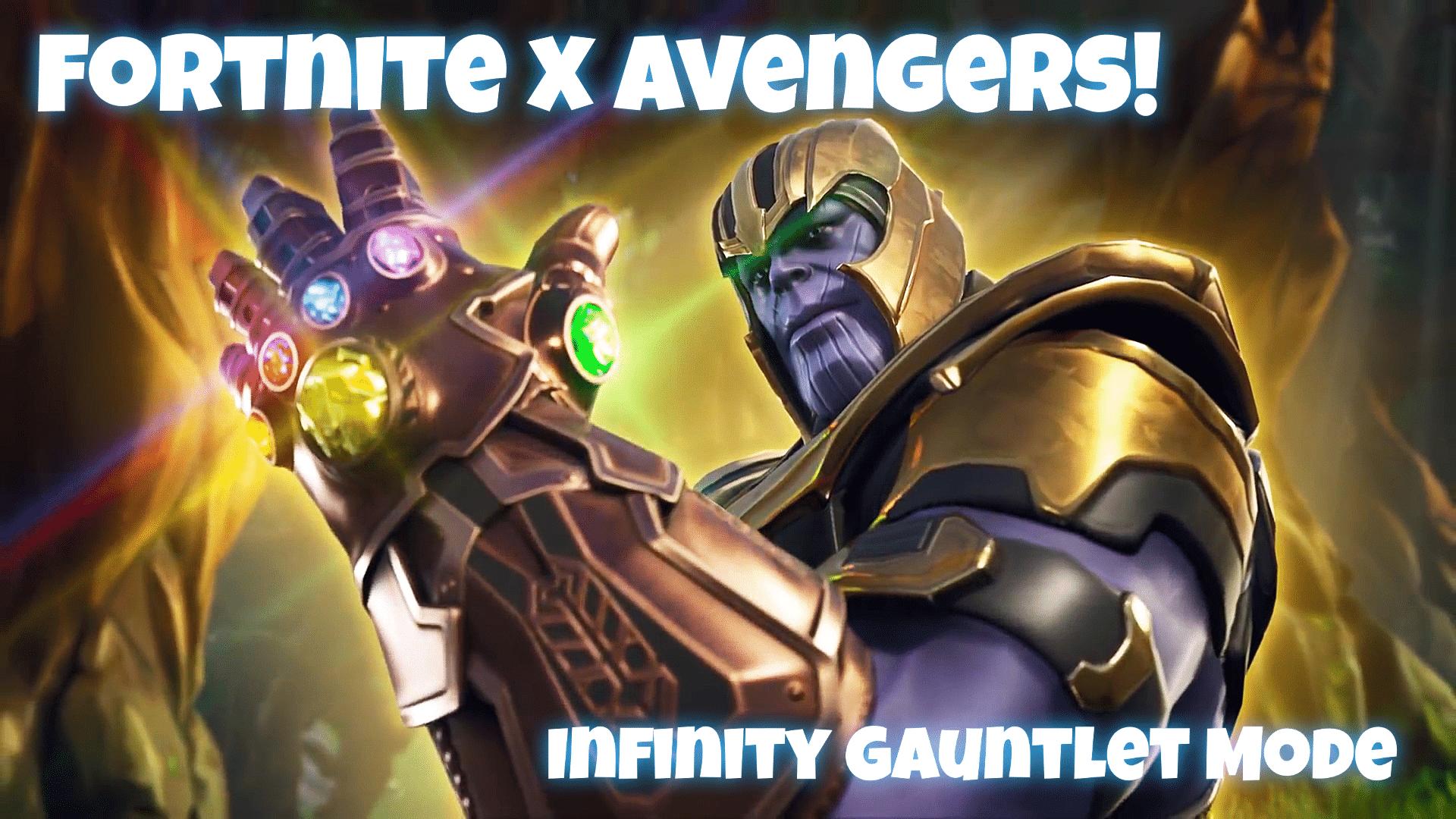 fortnite x avenger's infinity war limited time mashup